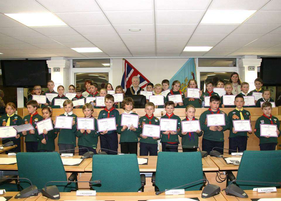 Chief Scout Silver Awards 2014