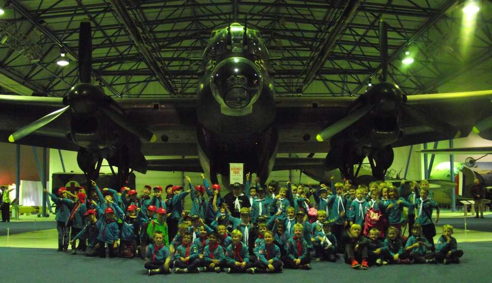 District Beavers Air Activity Day